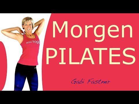 17 Min Guten Morgen Pilates Ohne Gerate Youtube Pilates Pilates Ubungen Pilates Workout