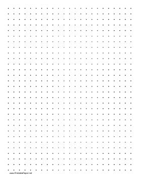 Remember the dot game? Print out this sheet of dotted paper so players can take turns connecting dots in an attempt to complete the most boxes. (Once you make a box, write your initial in it to claim the point!) Free to download and print
