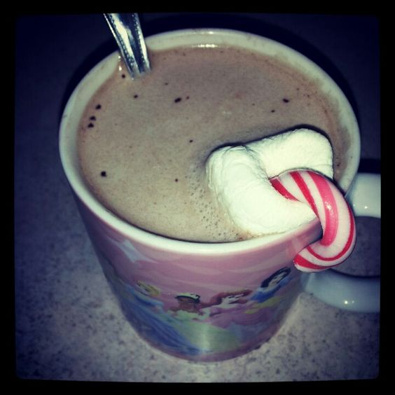 Peppermint Marshmallow Hot Chocolate yay!