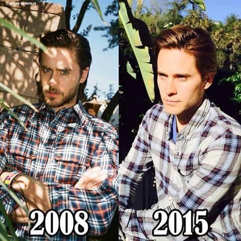 @stephanenini: Nossa como o @JaredLeto envelheceu...Não pera #Produtojequiti? #Natura? #WTF