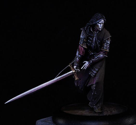 Amazing vampire mini - 30mm tall! - from Origen Art