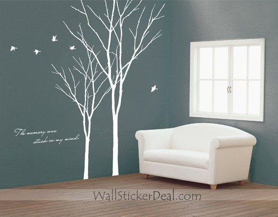 The Memory Was Stack In My Mind Tree Wall Sticker