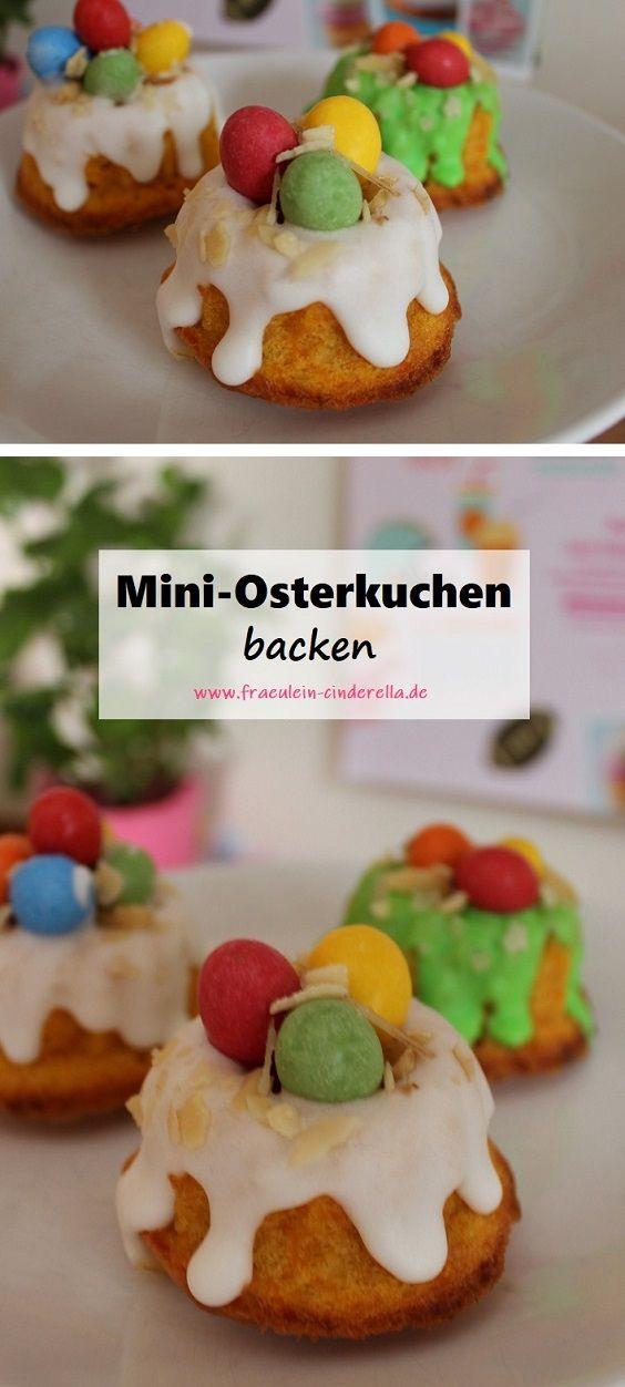 Mini Oster Kuchen Backen In 2020 Kuchen Ohne Backen Ostern Backen Kuchen