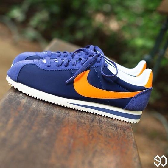 premium selection 17e93 1f116 ... norway nike cortez blueorange sneakers nike cortez pinterest nike cortez  29894 ad514