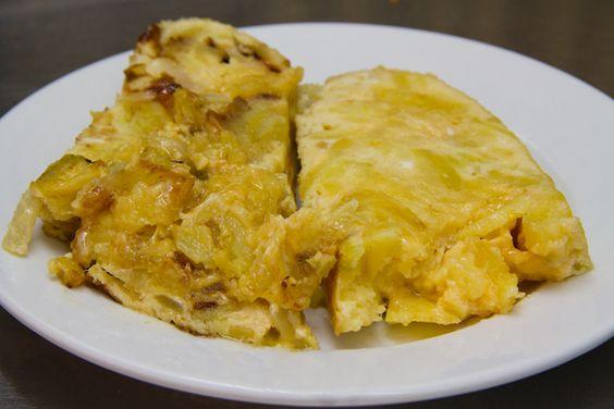 auténtica tortilla de patatas