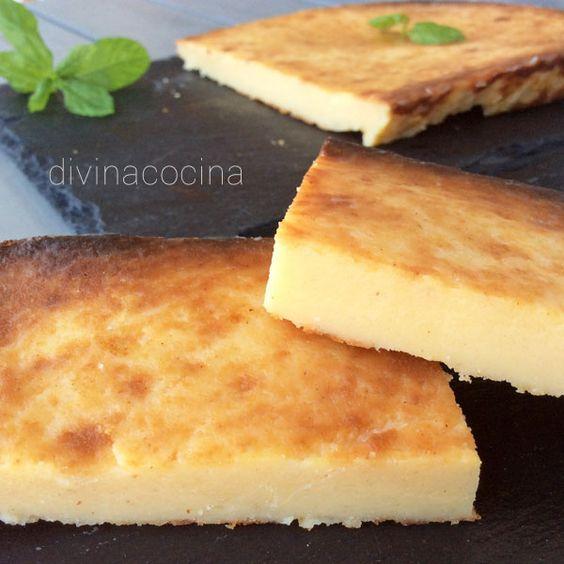Esta es una variedad simplificada de la quesada, receta fácil que hemos elaboradocon queso fresco y sin el cuajo original que es tan difícil de encontrar en la