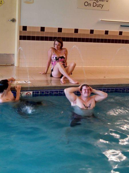 Pool Party Whoa, now.