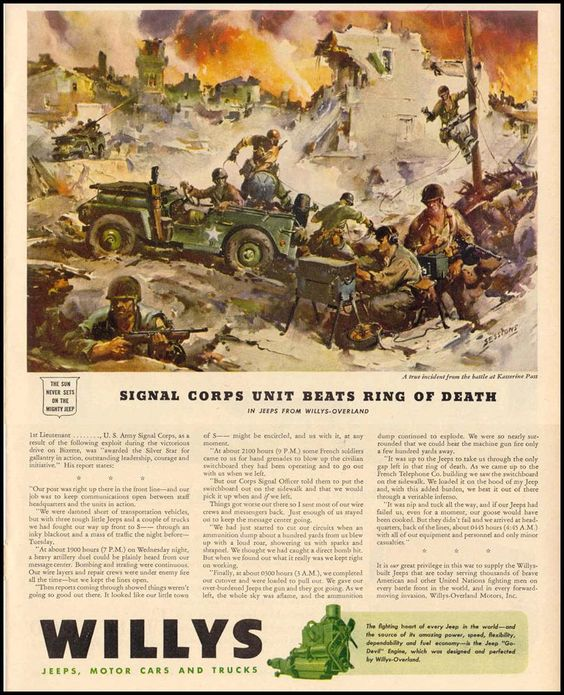 WILLYS JEEPS LIFE 12/20/1943 p. 79