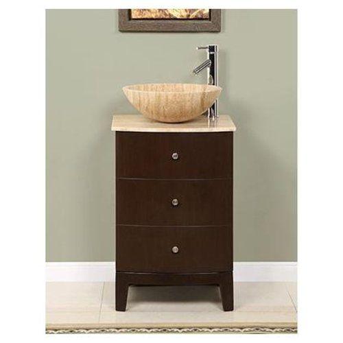 """Leah 20"""" Single Sink Bathroom Vanity Cabinet"""