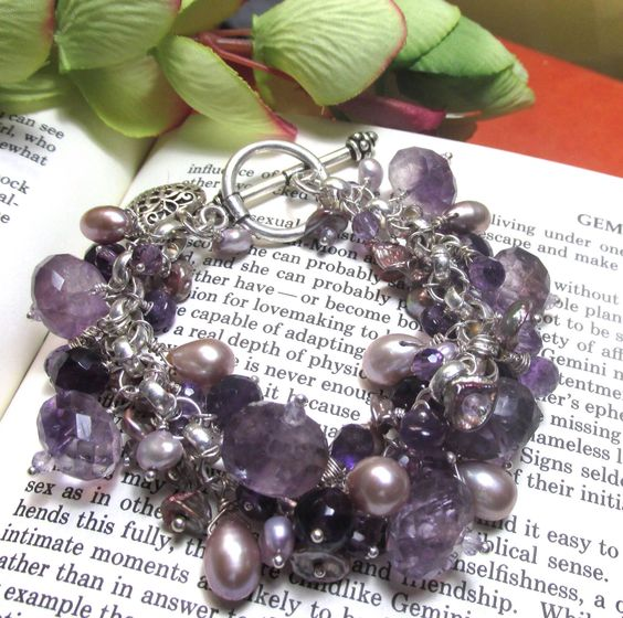 Please vote for this bracelet as the best handmade item in this grouping. By designs by Stevie J.  http://onfireforhandmade.com/purple-great-handmade-finds/ Thank you.