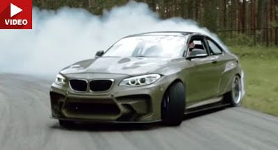 Die HGK BMW F22 Eurofighter packt 820HP unter Kevlar BMW BMW M2 BMW Videos Drifting Tuning Video