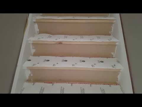 How To Install Carpet On Stairs Youtube Carpet Stairs Carpet