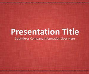 Linen red powerpoint template professional powerpoint slide linen red powerpoint template professional powerpoint slide design free download slidehunter powerpoint templates pinterest powerpoint slide toneelgroepblik Images