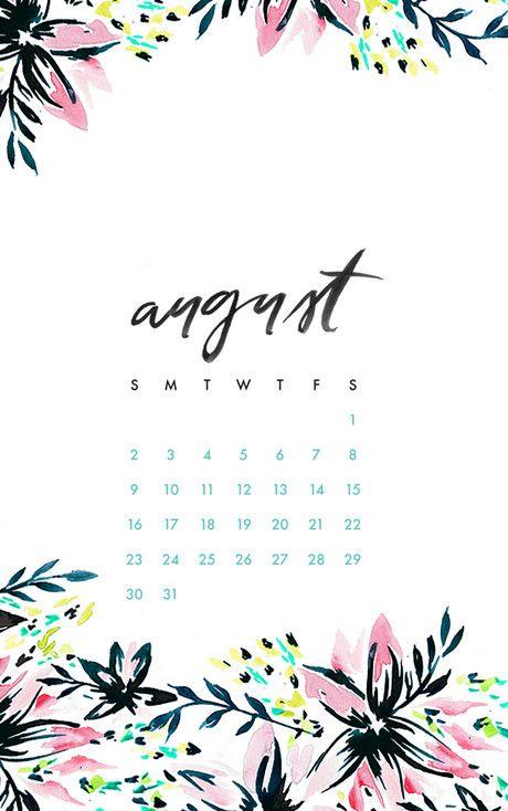 august wallpaper calendar of - photo #33