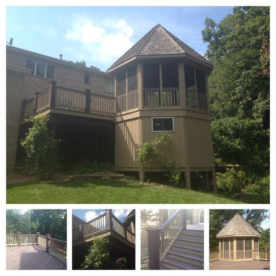 Deck restoration by J&H Painting