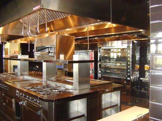 Likes This Commercial Kitchen Design For Resturants Met Led