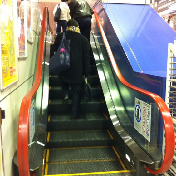 Shortest escalator I have ever seen