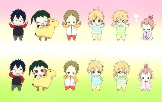 Pin By Jenny Ragland On Gakuen Babysitter Gakuen Babysitters Anime Family Anime Chibi