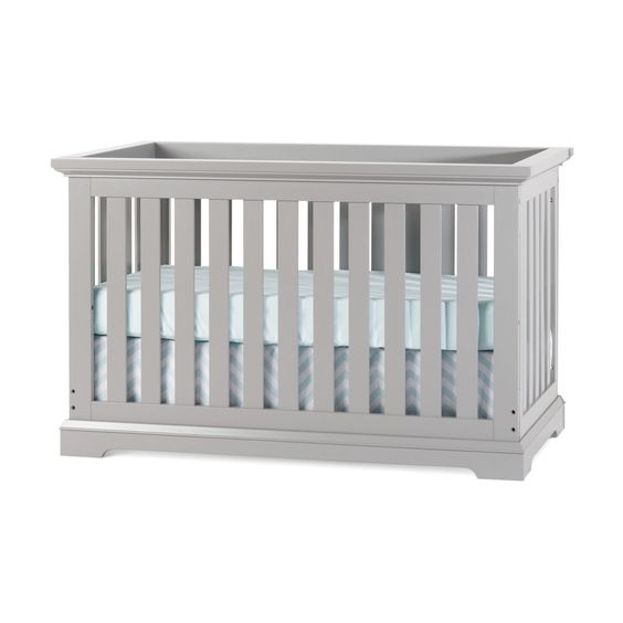 Child Craft Kayden Cool Gray 4-in-1 Convertible Crib