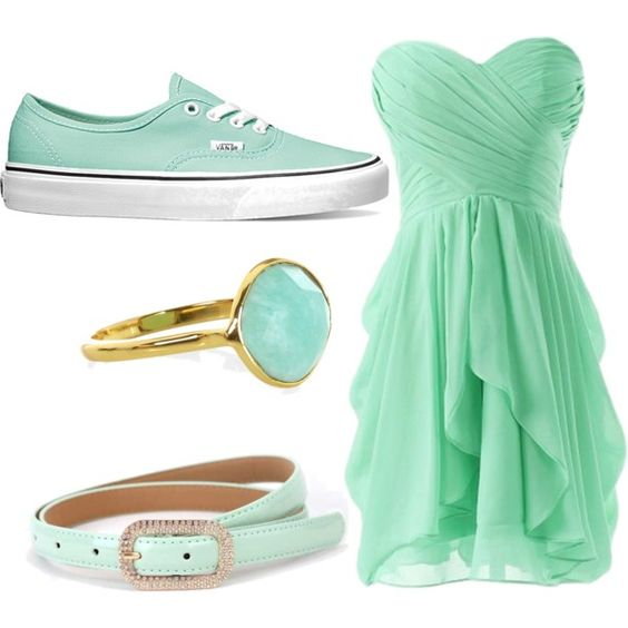 nonprom by laureljsimmons on Polyvore featuring polyvore fashion style Vans Accessorize