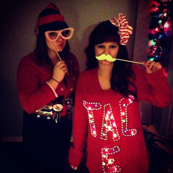 diy light tacky sweaters and light up sweater