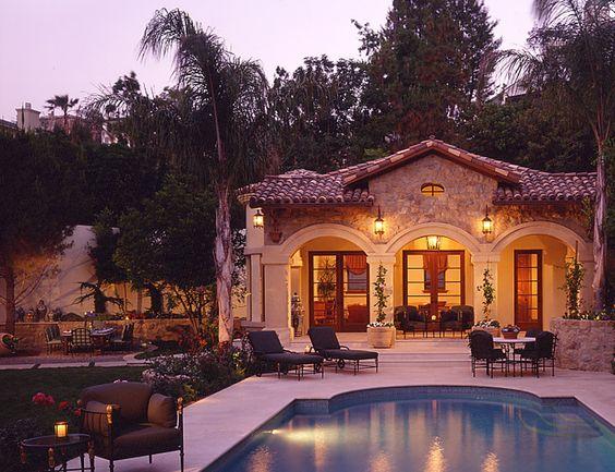 Interior Design Italian Villa Beverly Hills Ca Pools And Poolhouses Pinterest Villas