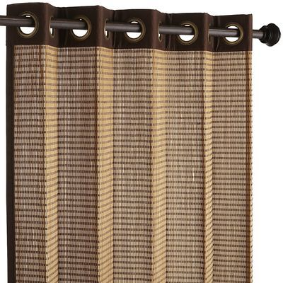 Bamboo Dark Brown Grommet Panel | Master bedrooms, Tropical and ...