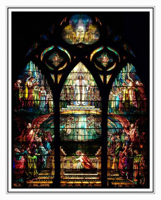 Vision of St. Paul, Painter Memorial Window | St. Paul's Church, Troy, NY