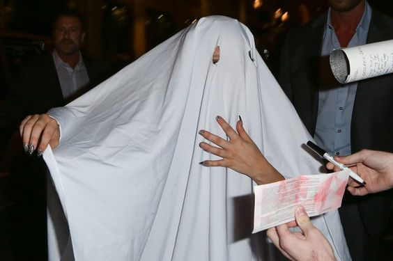 Pin for Later: Lady Gaga's Halloween Costume Is Hilariously Spooky