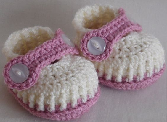 baby booties shoes boots baby girl shoes crochet by kristine1986