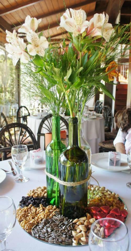 Centros de mesa, muy a nuestro estilo, además ¡comestibles!