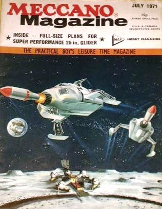 John Kenneth Muir's Reflections on Cult Movies and Classic TV: Gerry Anderson's UFO: Meccano Magazine (July 1971)...