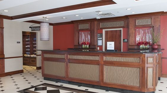 Hilton Garden Inn Indianapolis South/Greenwood Hotel, IN - Hotel Lobby Front…