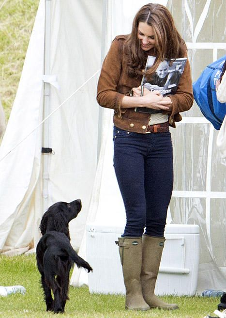 Kate Middleton Says She Missed Dog Lupo During New Zealand, Australia Royal Tour....April, 2014: