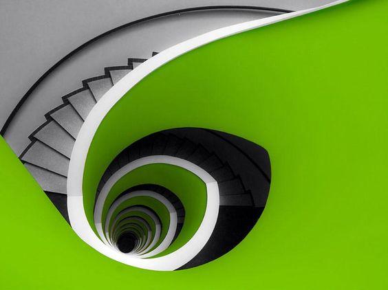 Elliptical Stairs