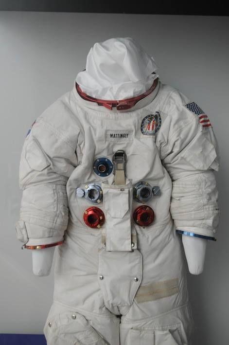 Ken Mattingly Apollo 16 suit