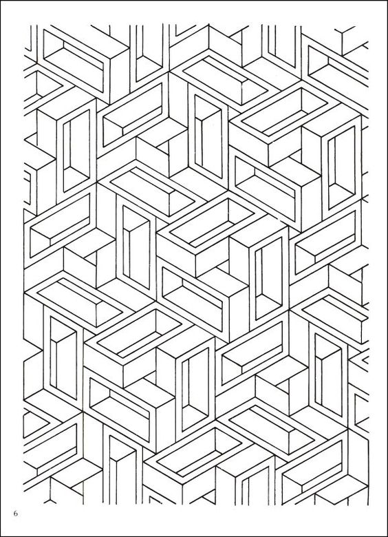 op art coloring pages google search