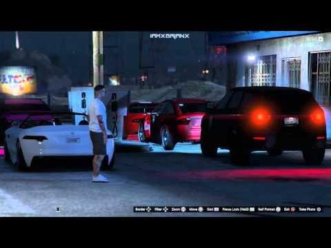 Gta 5 Online Car Meet Cruising Car Show Drag Racing Ps4