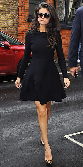 Selena Gomez in a perfect LBD - click ahead for 10 more cute fall outfits:
