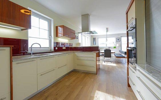 This is flanked by a characterful #kitchen with a cosy dining area.