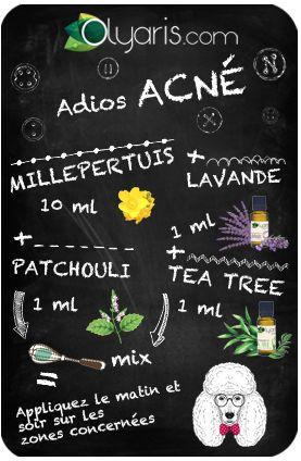 astuce acné
