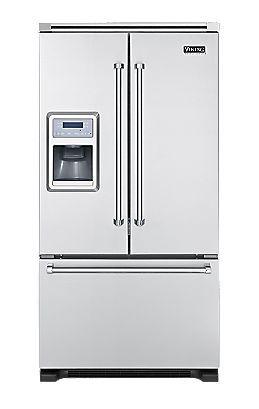 Viking French Door Bottom Mount Refrigerator Freezer W