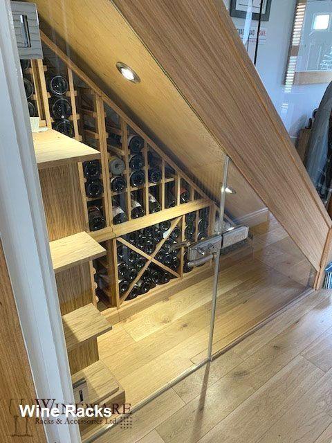 41++ Diy wine cellar under stairs trends