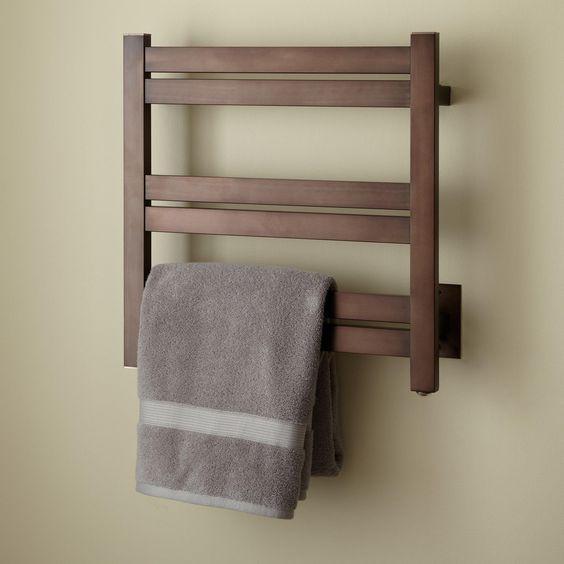 "20"" Brenton Hardwired Towel Warmer - Towel Warmers - Bathroom"