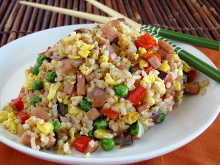 Spam Fried Rice...well, Spam Musubi is awesome, so it's worth a try!