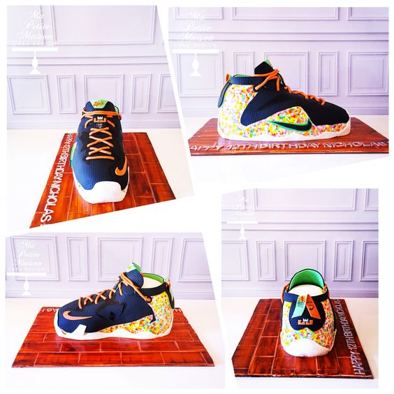 parfum yves saint laurent homme - Nike fruity pebbles Lebron James fondant basketball shoe cake ...