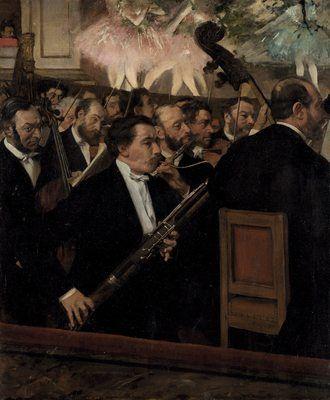 L'orchestre de l'opéra, par Édgar Degas