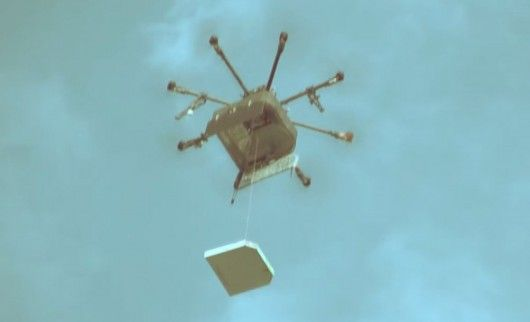 EXPRESS MODE – Une pizzeria russe lance la livraison … par drone