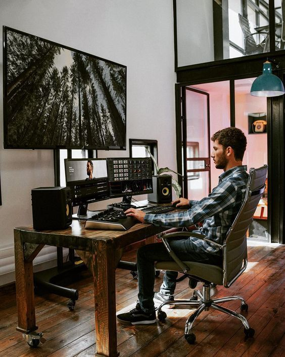 30 Best Home Office Designs For Your Inspiration Cool Classic And Modern Home Office Setup Office Setup Office Design