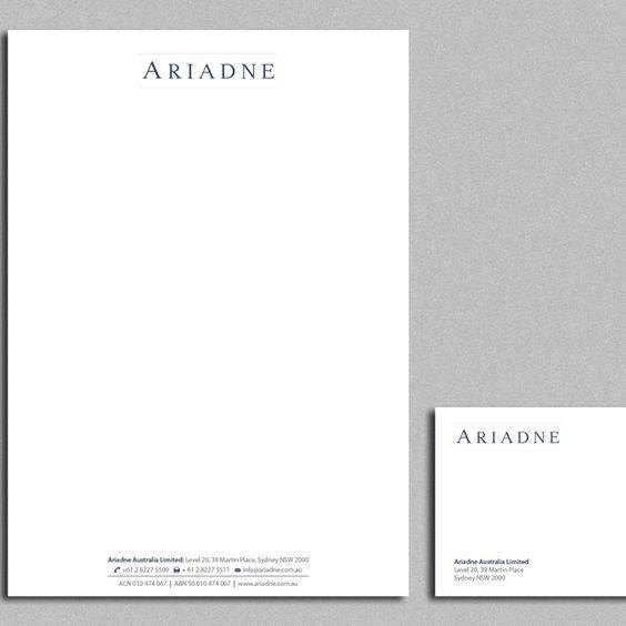 Freelance Job - Upgrade Corporate Letterhead by design_C Design - corporate letterhead